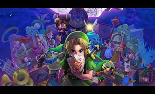 The Legend of Zelda: Majora's Mask 3D 1