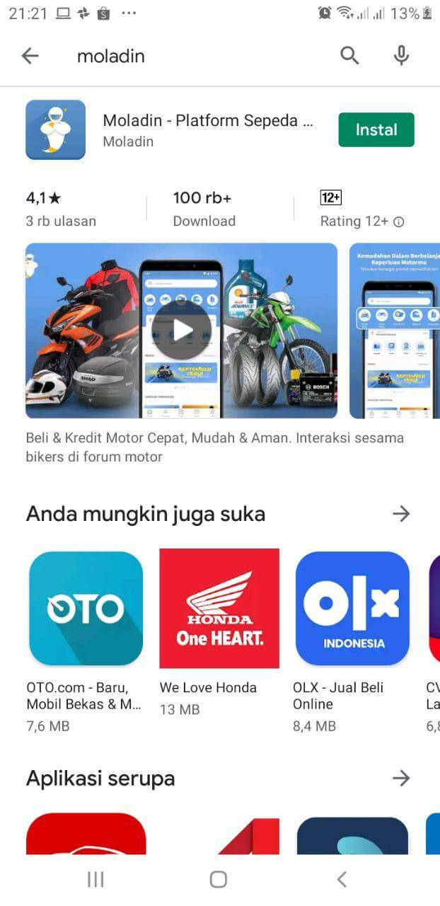 download aplikasi moladin website motor